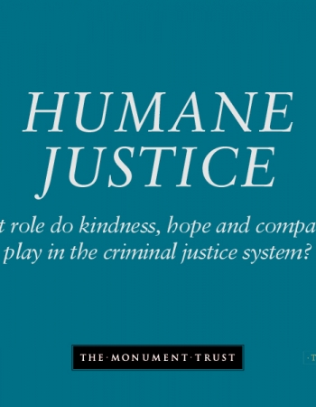 Humane Justice – New publication from the Monument Fellowship