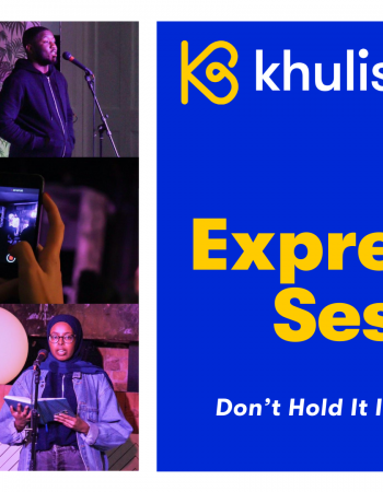 Join us for our open mic event: The expression sessions